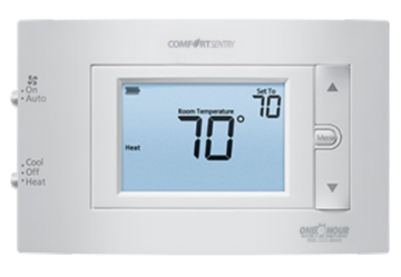 Comfort Sentry 1/1 Programmable Thermostat